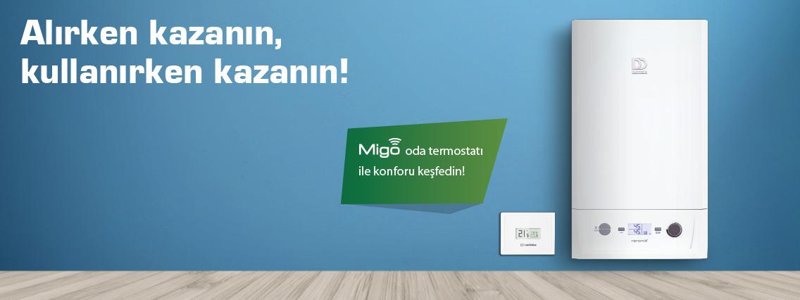 İzmit Kocaeli Migo Oda Termostatı Kampanyası