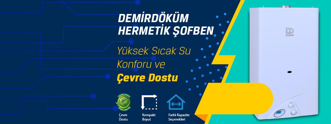 İstanbul Eyup DemirDöküm Hermetik Şofben Değişim Kampanyası
