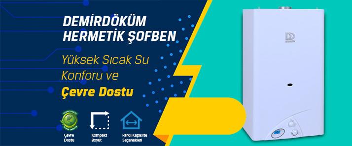 Ankara Ulus DemirDöküm Hermetik Şofben Kampanyası