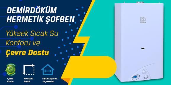 İzmir Bornova DemirDöküm Hermetik Şofben Kampanyası
