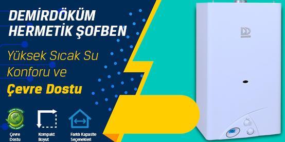 Şişli İstanbul DemirDöküm Hermetik Şofben Kampanyası
