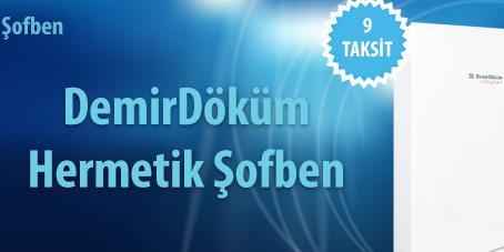 İstanbul Ümraniye DemirDöküm Hermetik Şofben Değişim Kampanyası